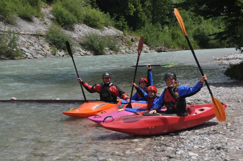 Kajakkurs Garmisch Kajakfamilie