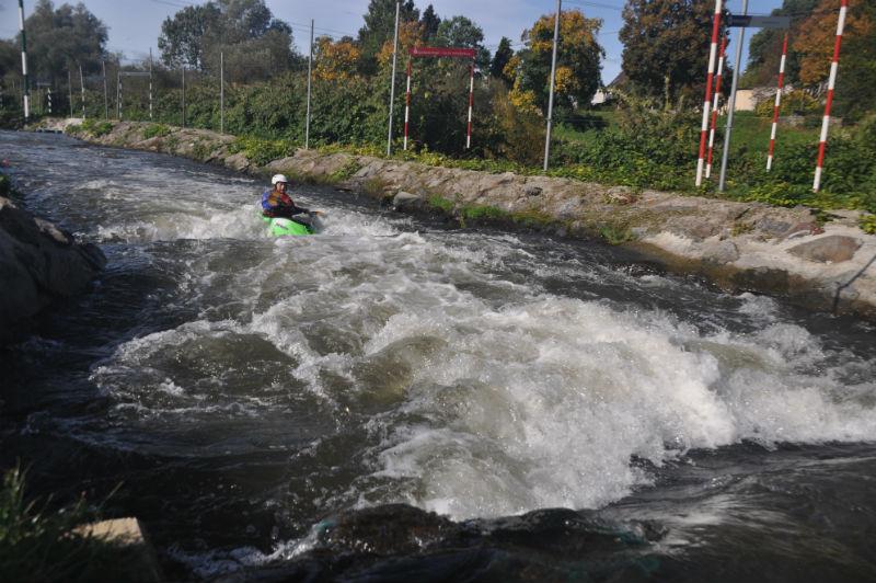 Kajakkurs Hohenlimburg Slalomstrecke